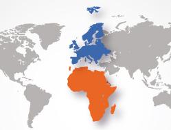 Carte Afrique europe 2-4