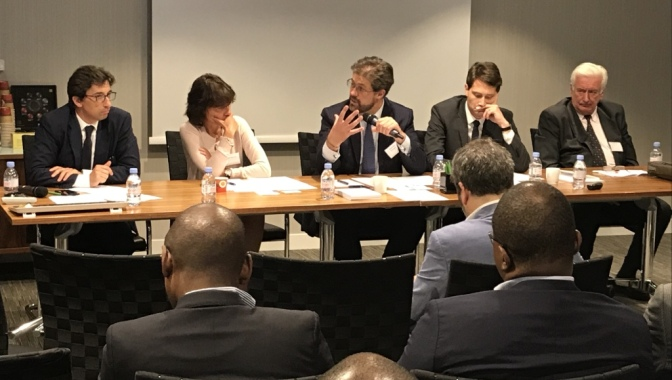 "Olivier Stintzy, Partner of Edifice Capital Group, attended the Conference on ""PPPs in French-speaking Africa: Challenges and Opportunities"" hosted by Eversheds Sutherland, CIAN and Business Africa in Paris on June 29th."